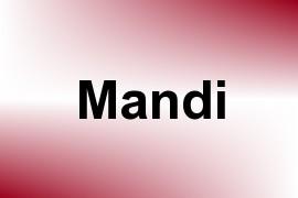 Mandi name image