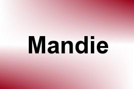 Mandie name image