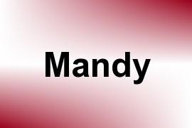 Mandy name image