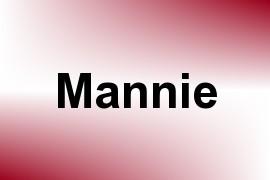 Mannie name image