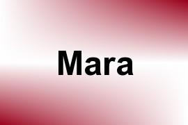 Mara name image