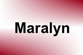 Maralyn name image