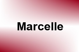 Marcelle name image