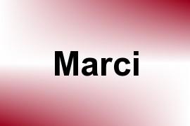 Marci name image