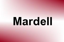 Mardell name image