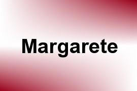 Margarete name image