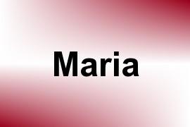 Maria name image