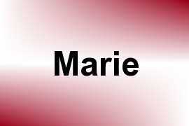 Marie name image
