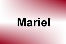 Mariel name image