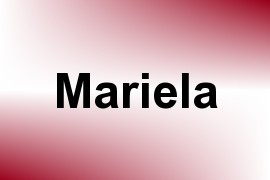 Mariela name image