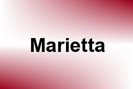 Marietta name image