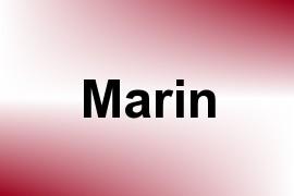 Marin name image