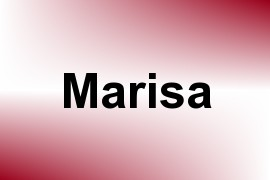 Marisa name image