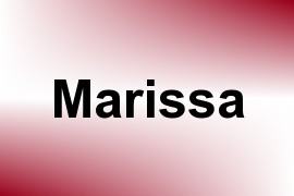 Marissa name image