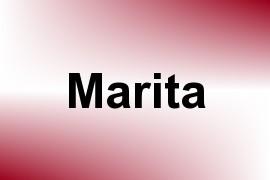 Marita name image