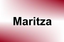 Maritza name image