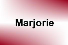 Marjorie name image