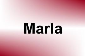 Marla name image