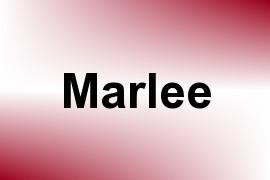 Marlee name image