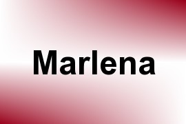 Marlena name image