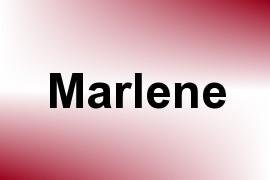Marlene name image