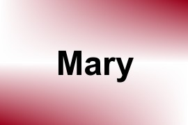 Mary name image
