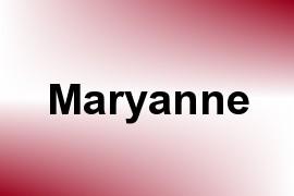 Maryanne name image