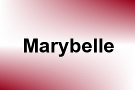 Marybelle name image