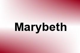 Marybeth name image