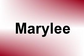 Marylee name image