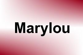 Marylou name image