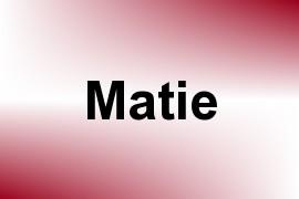 Matie name image