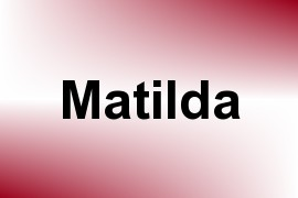 Matilda name image