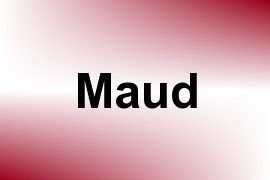 Maud name image