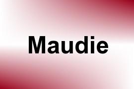 Maudie name image