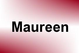 Maureen name image