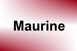 Maurine name image