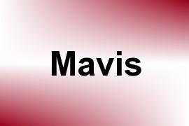 Mavis name image