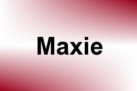 Maxie name image
