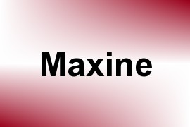 Maxine name image