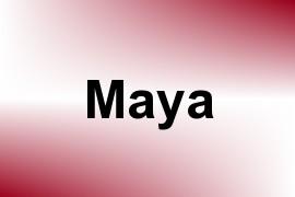 Maya name image