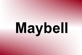 Maybell name image