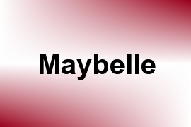 Maybelle name image