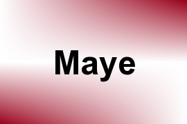 Maye name image