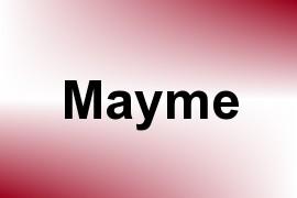 Mayme name image