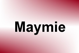 Maymie name image