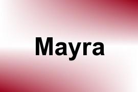 Mayra name image