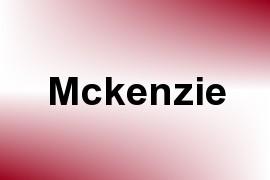 Mckenzie name image