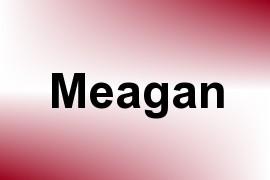 Meagan name image