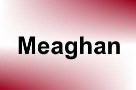 Meaghan name image